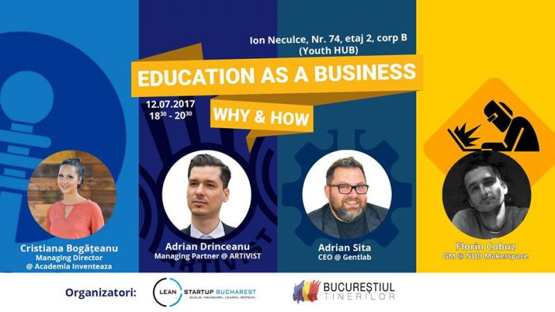 Education as a business: WHY & HOW
